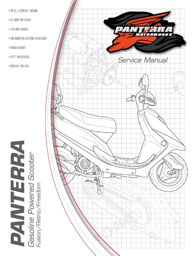 hight resolution of panterra freedom scooter wiring diagram