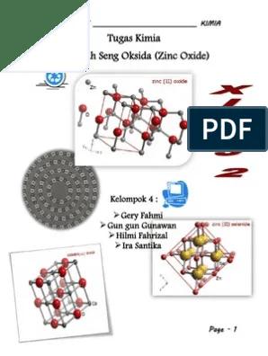 Rumus Kimia Seng : rumus, kimia, Oxide