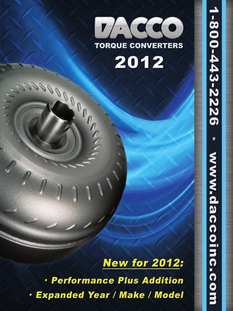medium resolution of pontiac grand prix torque converter