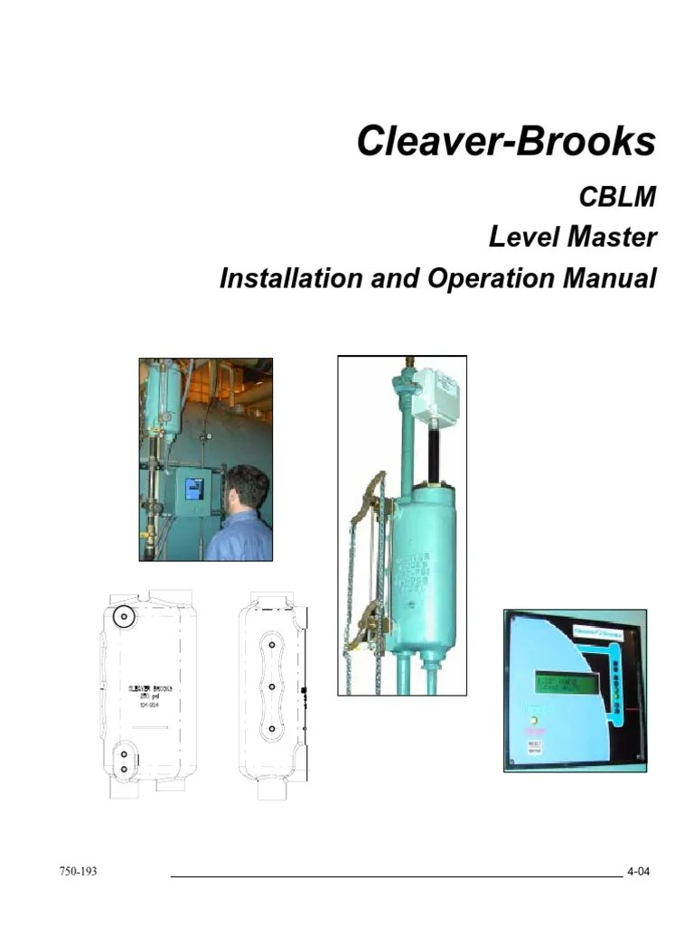 hight resolution of 750 193levelmaster electrical wiring relay cleaver brooks water column probe 5 cleaver brooks wiring schematic