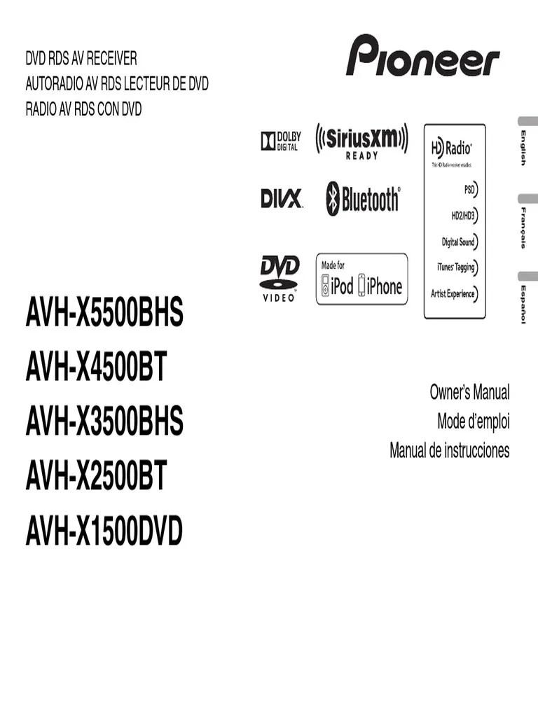pioneer avh 5500 wiring schematics house wiring diagram symbols u2022 pioneer avh x3600bhs pioneer avh 5500 wiring schematics [ 768 x 1024 Pixel ]