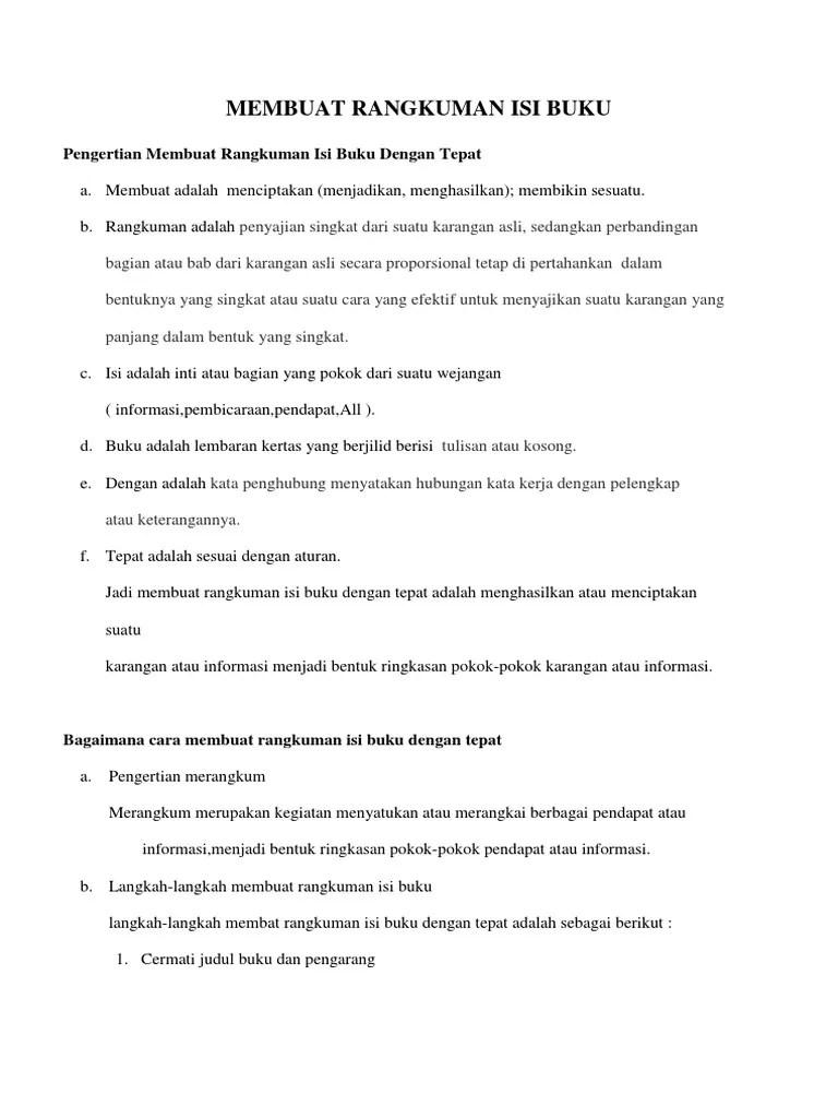 Cara Merangkum Materi : merangkum, materi, Langkah, Merangkum, IlmuSosial.id