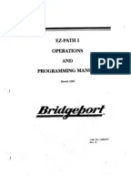 Bridgeport Series I milling machne repair manual