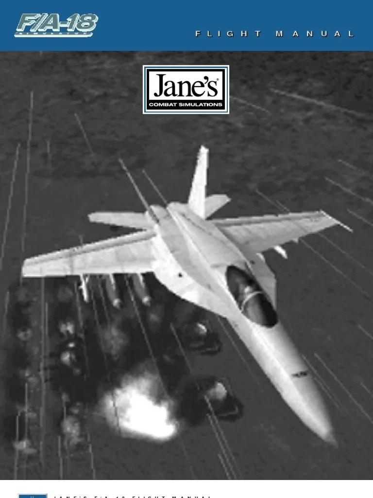 medium resolution of janes f 18 manual mc donnell douglas f a 18 hornet united states navy