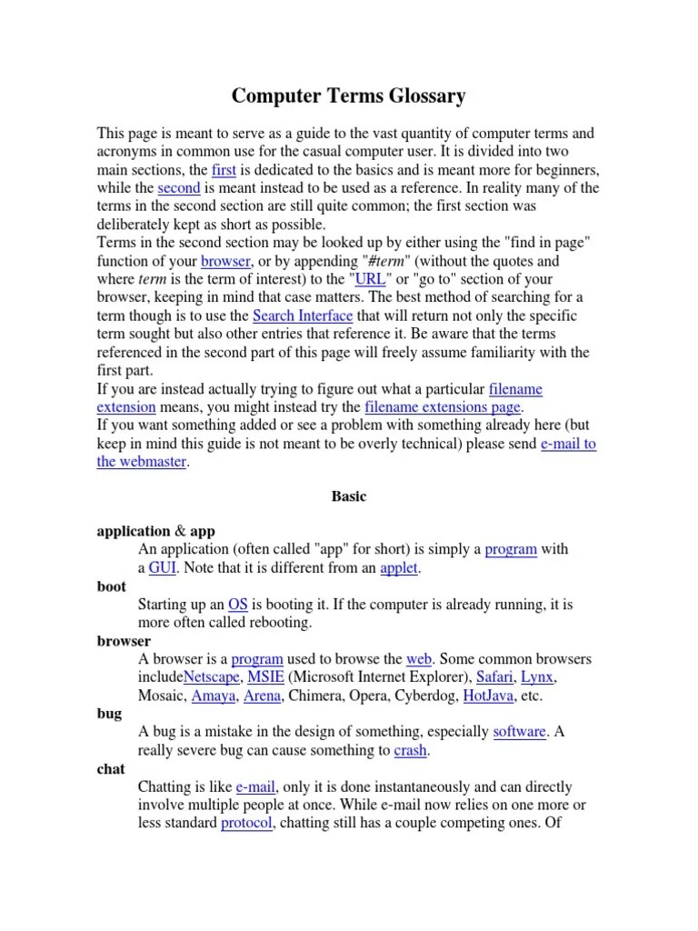 Computer Terms Glossary.docx   Operating System   Personal Digital Assistant