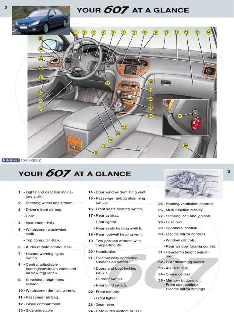 peugoet 607 full repairing manual en automatic transmission diesel engine [ 768 x 1024 Pixel ]