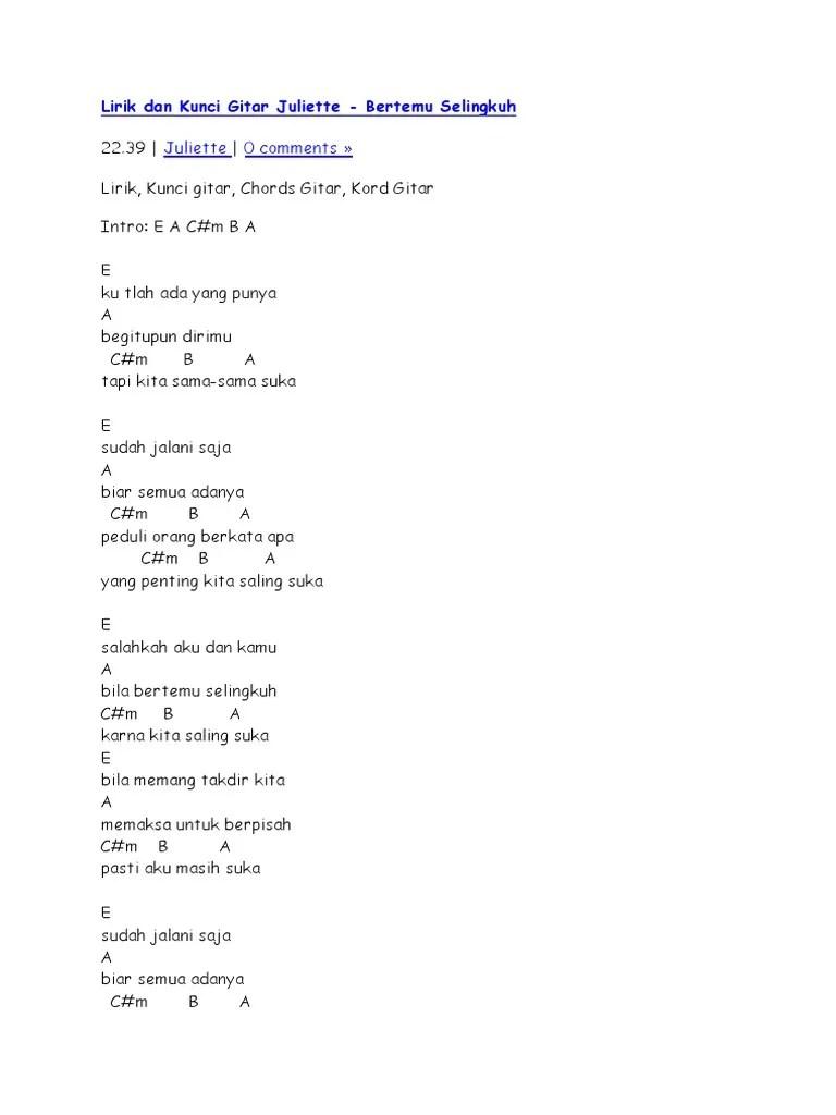 Chordtela Kekasih Bayangan : chordtela, kekasih, bayangan, Chord, Pupus, Chordtela