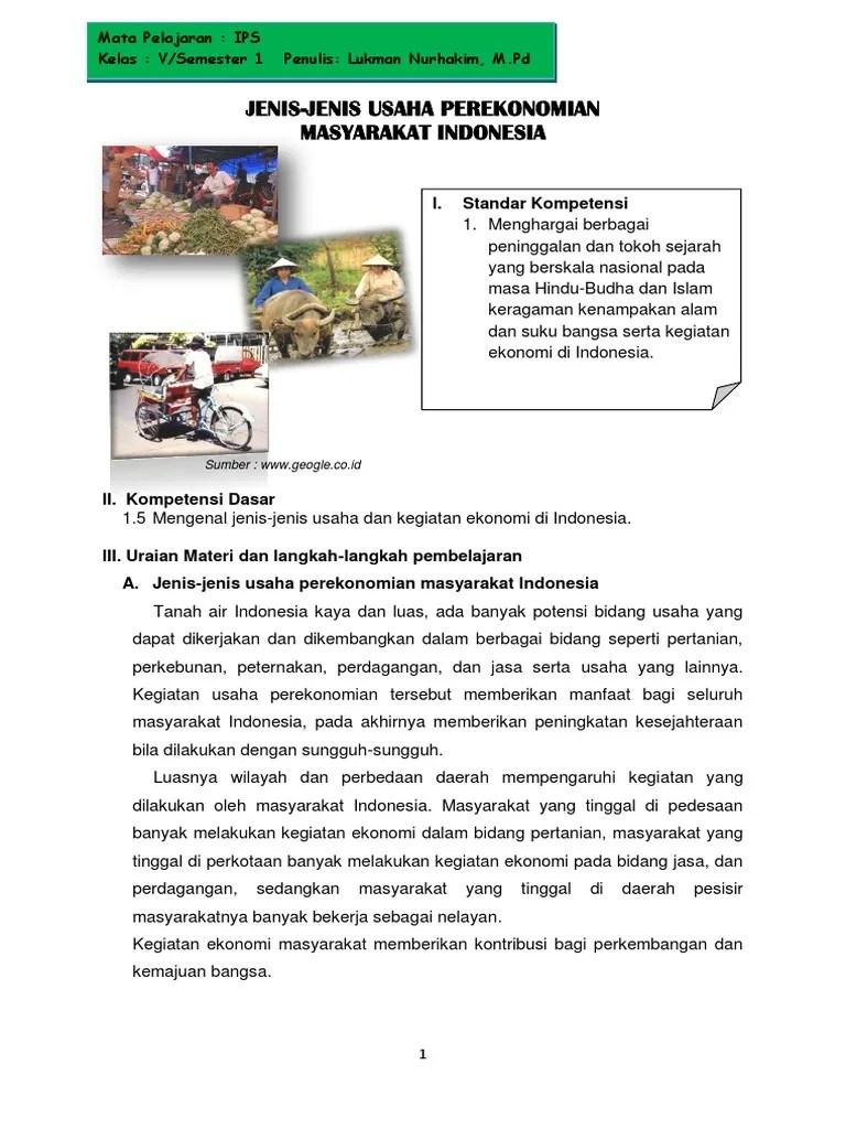 Gambar Usaha Ekonomi : gambar, usaha, ekonomi, Jenis, Usaha, Perekonomian