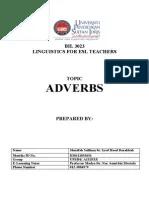 Makalah Part Of Speech : makalah, speech, Makalah, Speech, (Adverb), Adverb, English, Language