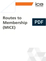 Ice  routes to membership also continuing professional development employment evaluation rh scribd