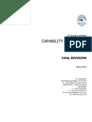 Laporan Surveyor / Certificate Of Inspection : laporan, surveyor, certificate, inspection, Capability, Statement, 052013, Surveying, Outsourcing