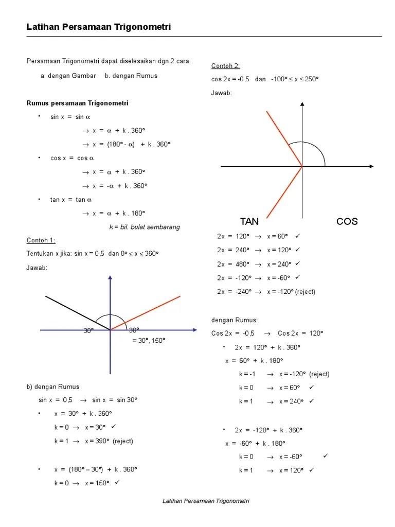 Rumus Cos 2x : rumus, Persamaan_trigonometri