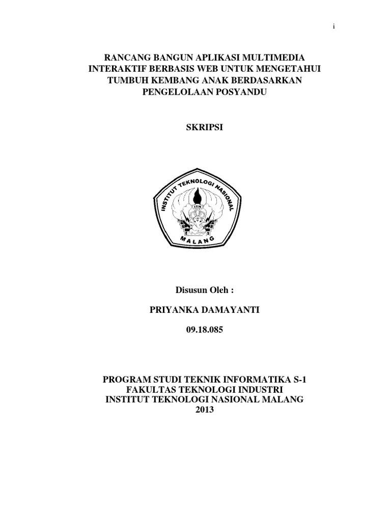 PDF Proposal Penelitian Analisis Dan Perancangan Basis Data