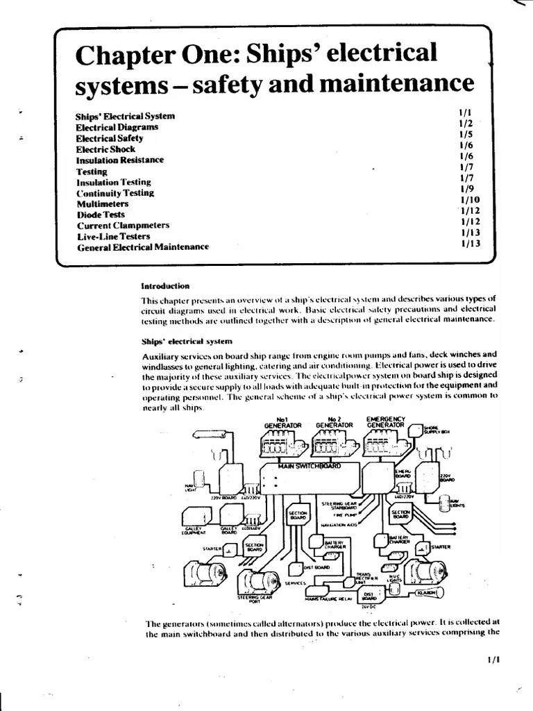 medium resolution of chapter 1 ships electrical systems safety maintenance electricity electromagnetism