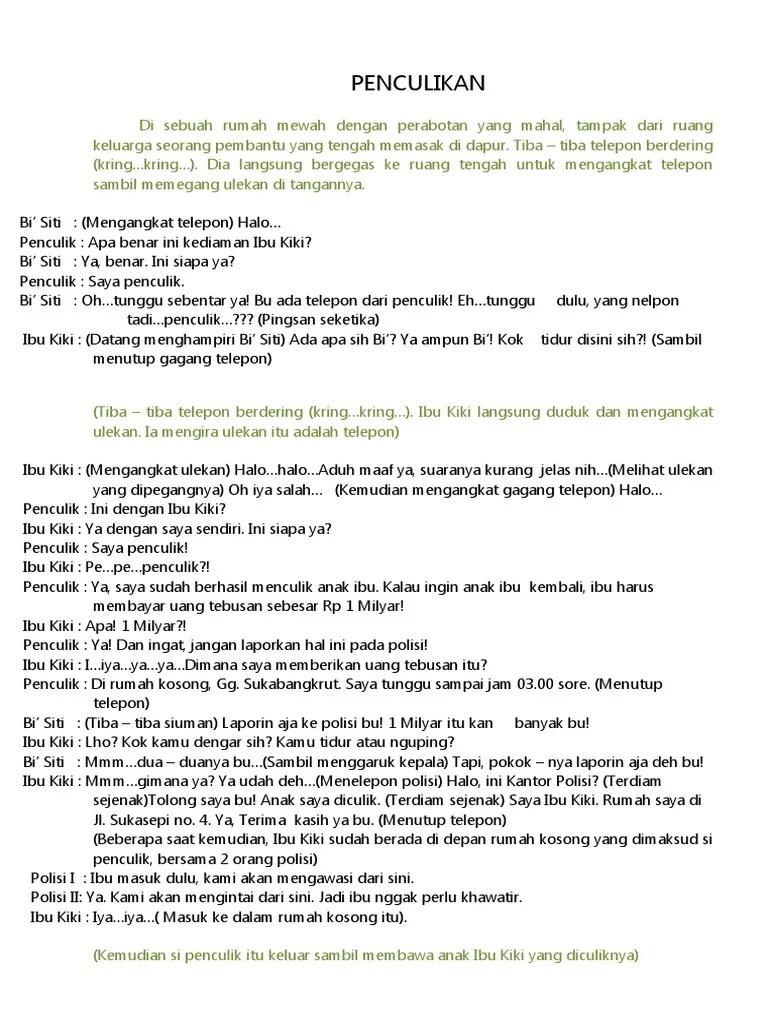 Teks Drama 6 Orang : drama, orang, Naskah, Drama, Singkat, Orang.docx