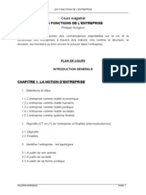 Les Fonctions De L Entreprise : fonctions, entreprise, Fonctions, L'Entreprise, Économie, Affaires