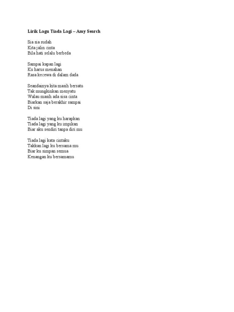 Lirik Lagu Rindu Serindu Rindunya : lirik, rindu, serindu, rindunya, Lirik, Karaoke