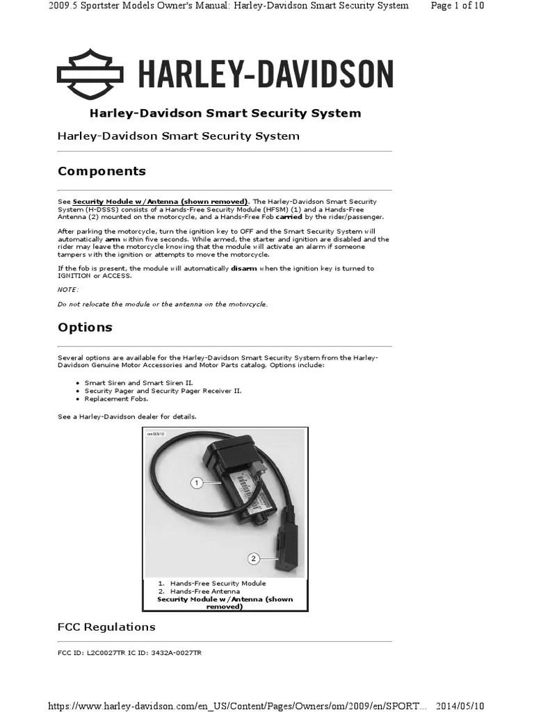 harley davidson ignition key number 1995 toyota camry engine diagram hd smart security system alarm