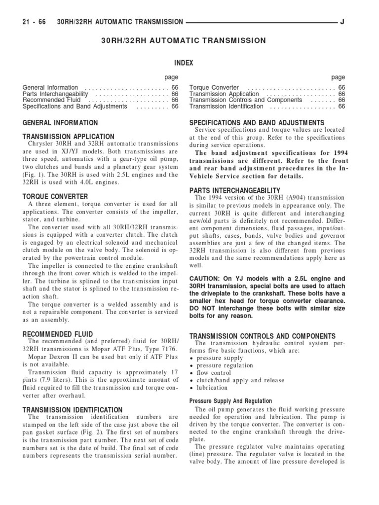 medium resolution of 30rh 32rh automatic transmission manual transmission automatic transmission