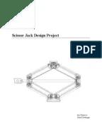 Simulative Calculation and Optimal Design of Scissor Lift