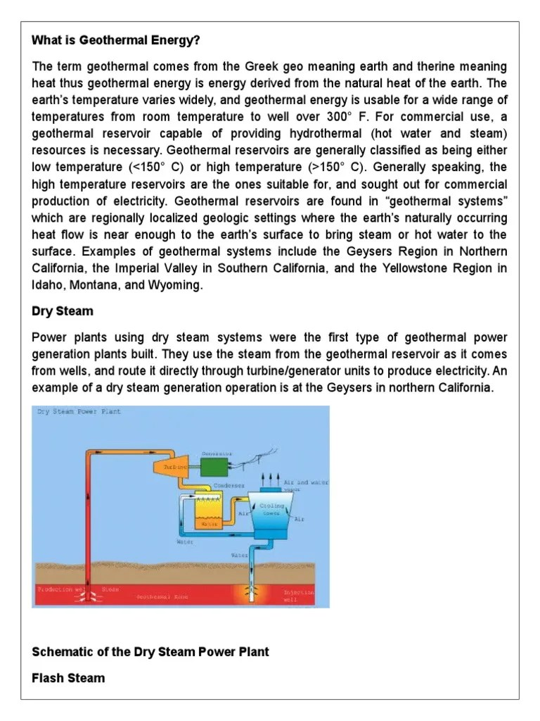 dry steam power plant diagram [ 768 x 1024 Pixel ]