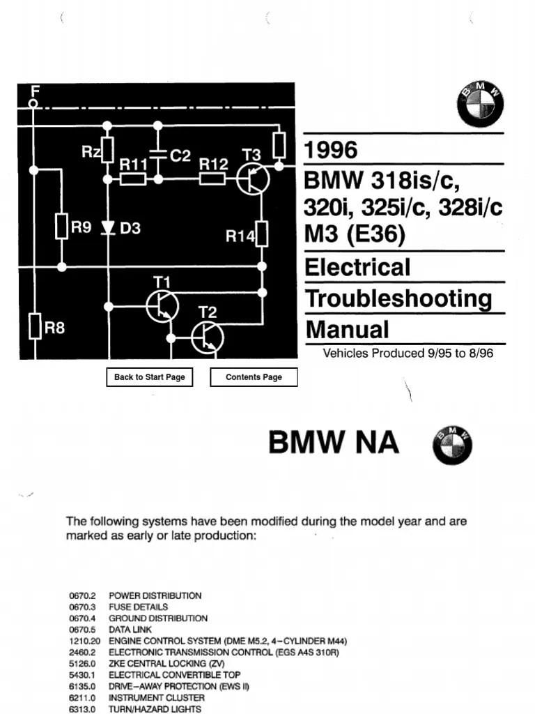 medium resolution of bmw electric troubleshoot manual suzuki swift wiring diagrams bmw e36 zke wiring diagram