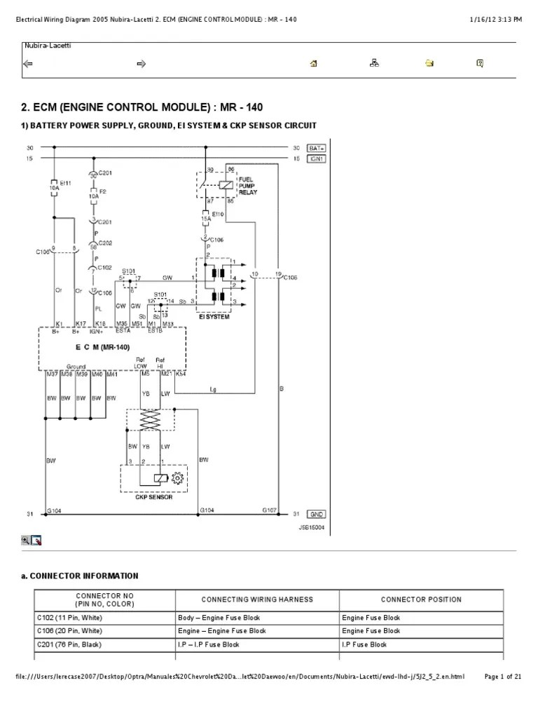 chevy optra wiring diagram wiring diagram third level chevrolet optra 2006 wiring diagram chevy optra wiring diagram [ 768 x 1024 Pixel ]