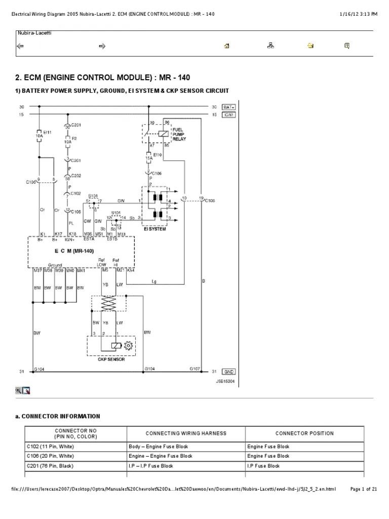 medium resolution of chevy optra wiring diagram wiring diagram third level chevrolet optra 2006 wiring diagram chevy optra wiring diagram