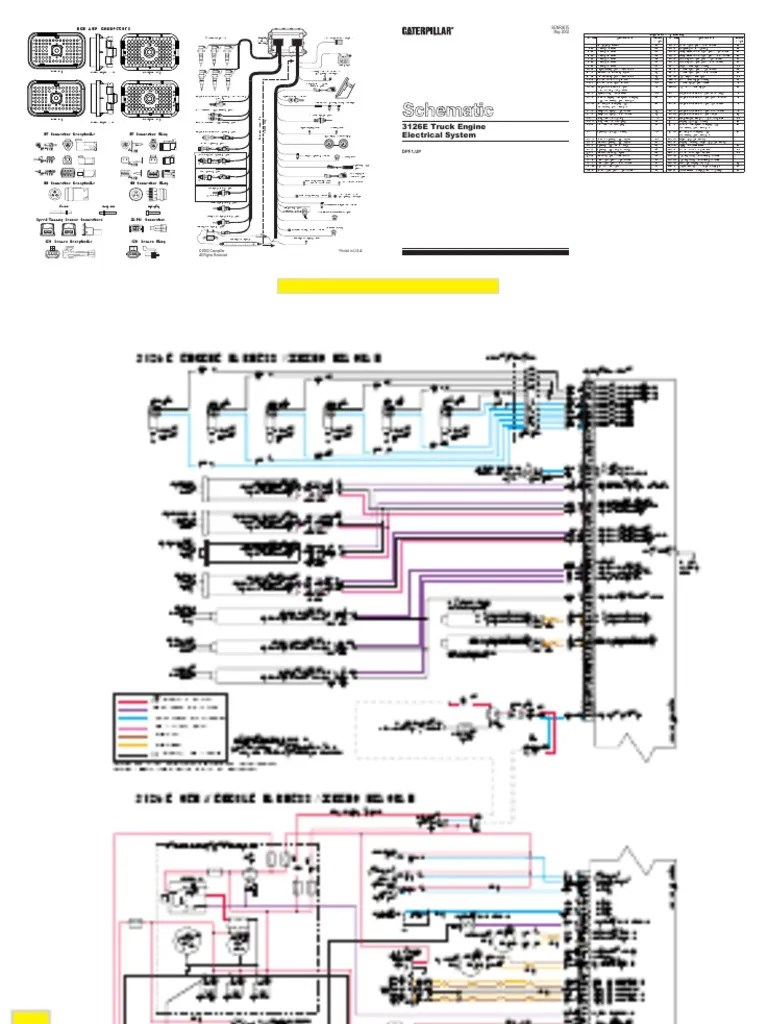 small resolution of 99 cat 3126 starter wiring diagram