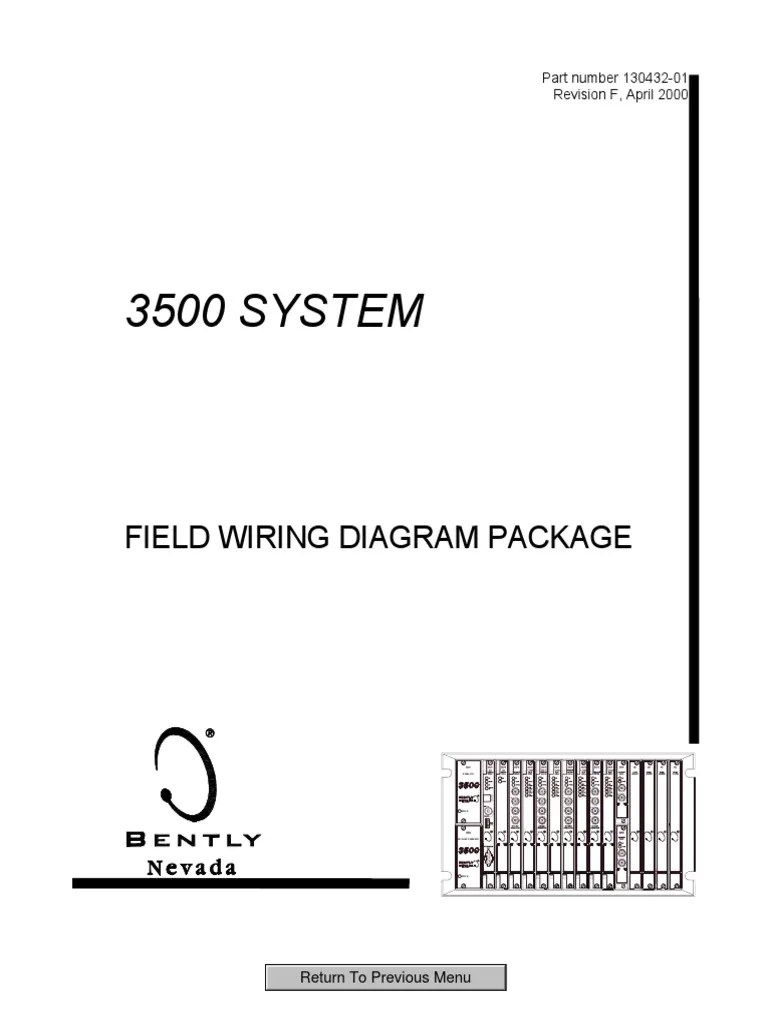 medium resolution of 3500 system field wiring diagram package 130432 01 electronics computer engineering