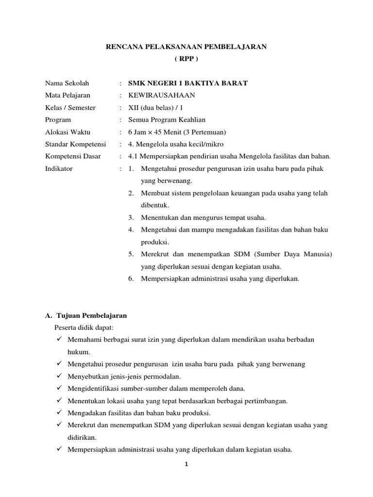 Rpp Prakarya Dan Kewirausahaan Smk Kelas Xii Kurikulum 2013 : prakarya, kewirausahaan, kelas, kurikulum, Produk, Kreatif, Kewirausahaan, Dunia, Sekolah