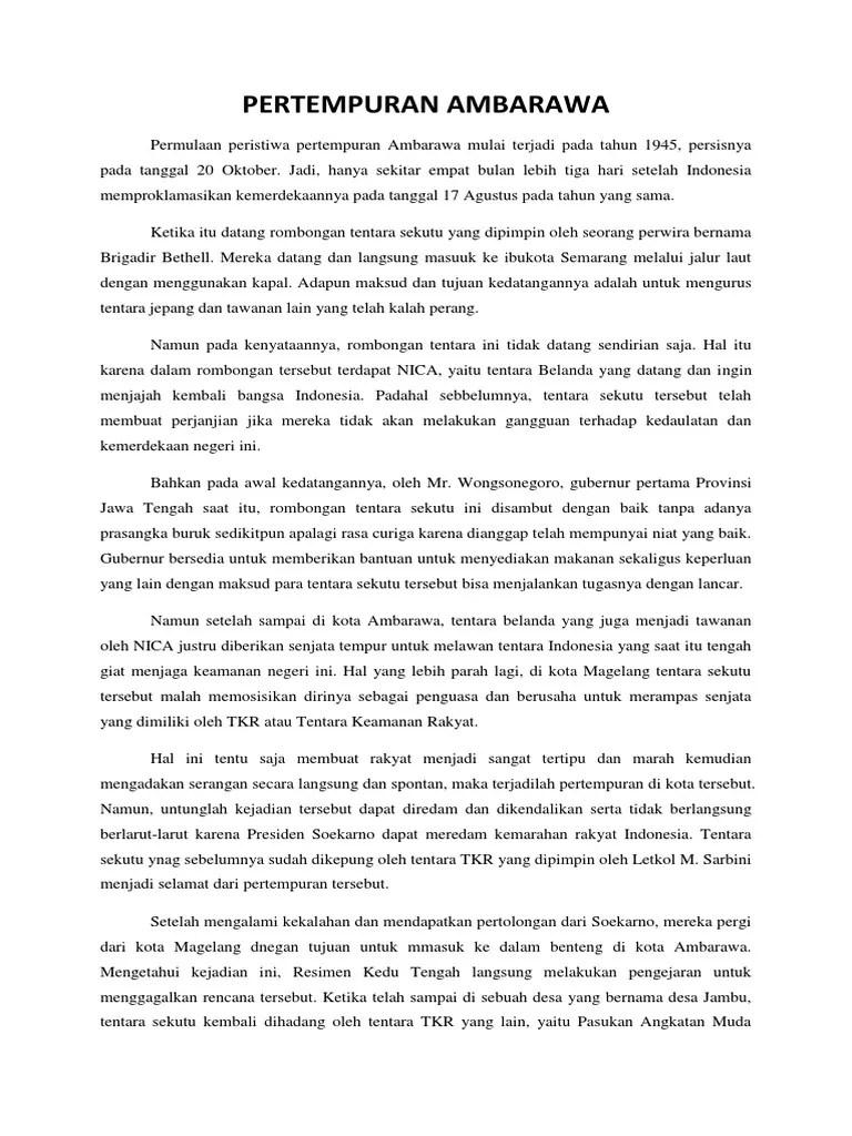 Palagan Ambarawa - Wikipedia bahasa Indonesia