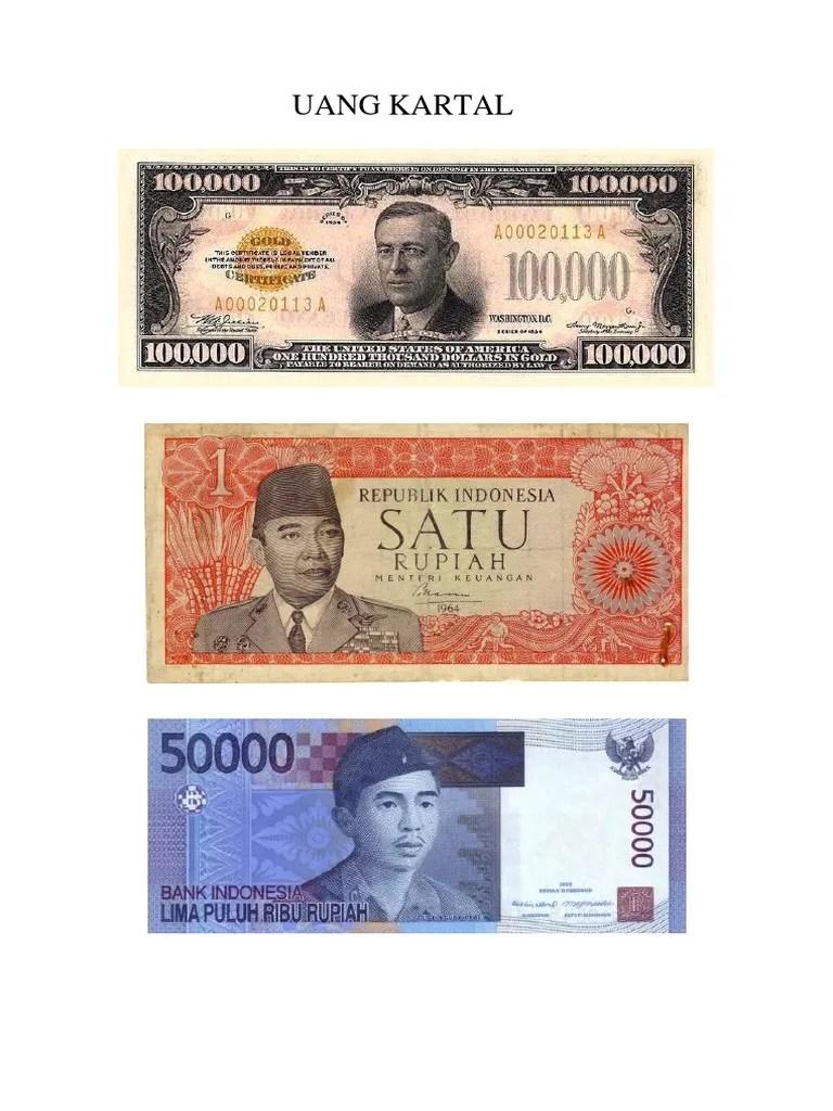 Uang Kartal Dan Uang Giral Adalah : kartal, giral, adalah, Kartal, Giral