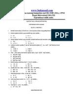 Contoh Faktorisasi : contoh, faktorisasi, Contoh, Latihan, Matematika, Faktorisasi, Aljabar, Kelas