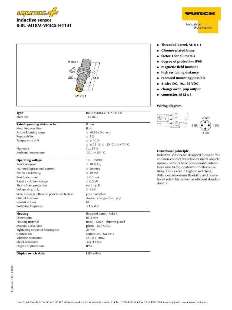 turck m1634877 insulator electricity components [ 768 x 1024 Pixel ]
