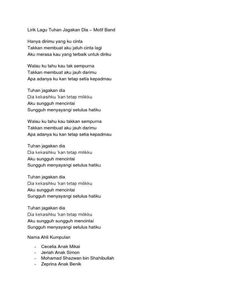 Chord Tuhan Jagakan Dia : chord, tuhan, jagakan, Cover, Tuhan, Jagakan, Gambaran