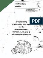 LAND ROVER SIII ROM Part 5Axles, Steering, Brakes