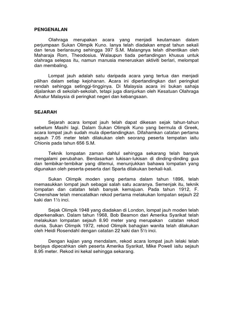 Sejarah Lompat Jauh Di Indonesia : sejarah, lompat, indonesia, Lompat, Uploaded, Priska, Richardly