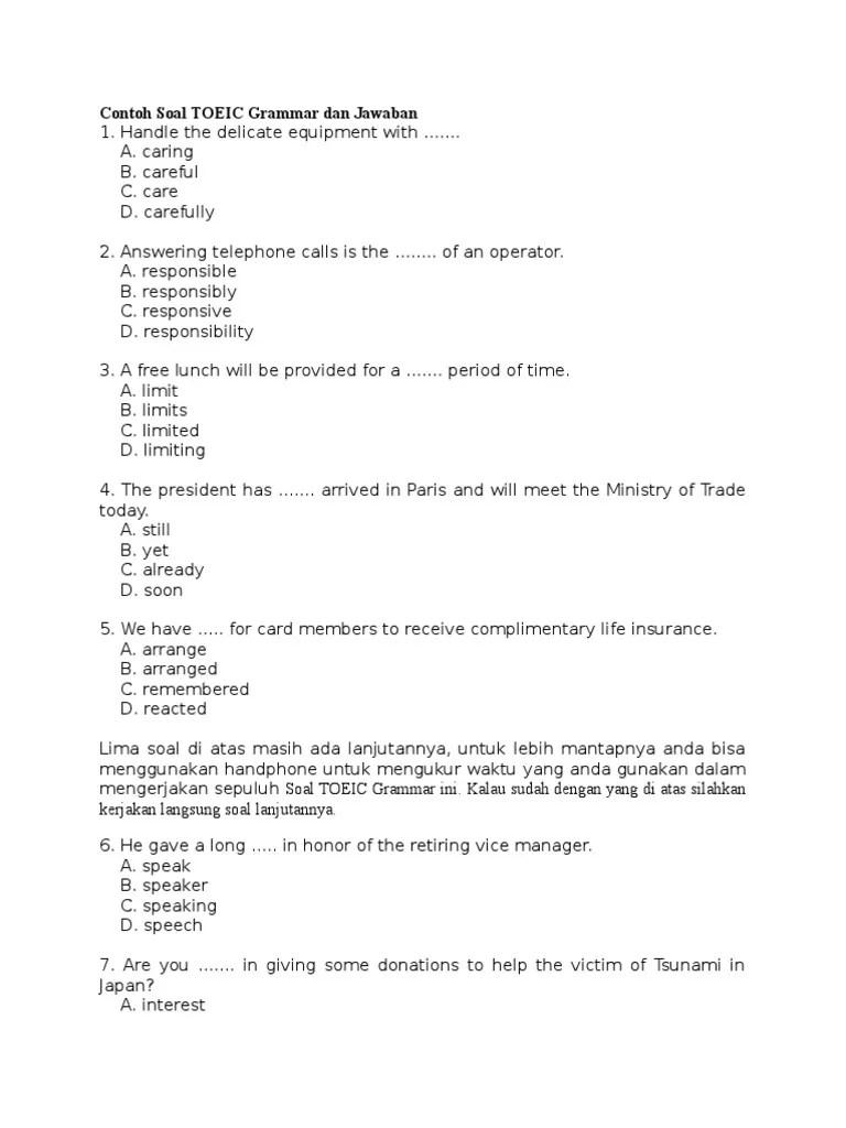 Contoh Soal Toefl Dan Pembahasannya Pdf : contoh, toefl, pembahasannya, Download, Toefl, Trainercelestial