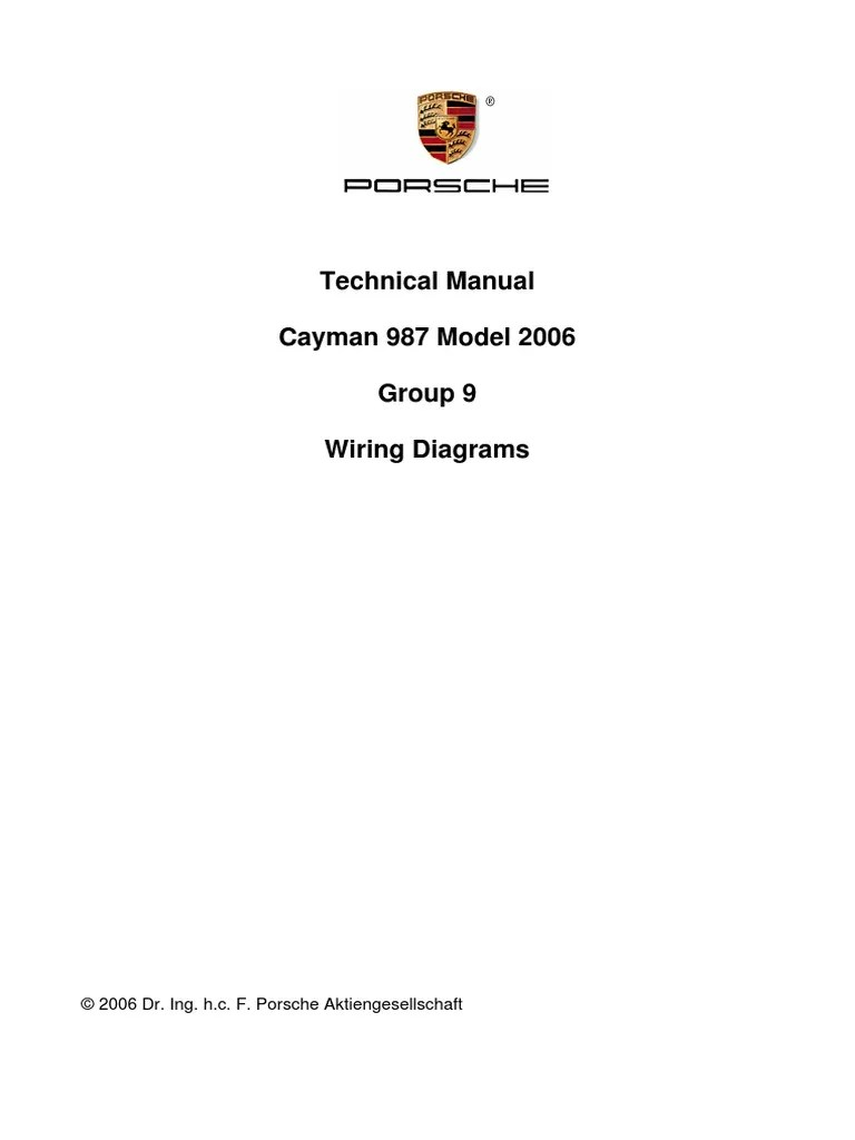 small resolution of cayman 987 2006 wiring diagrams electrical wiring electricalcayman 987 2006 wiring diagrams