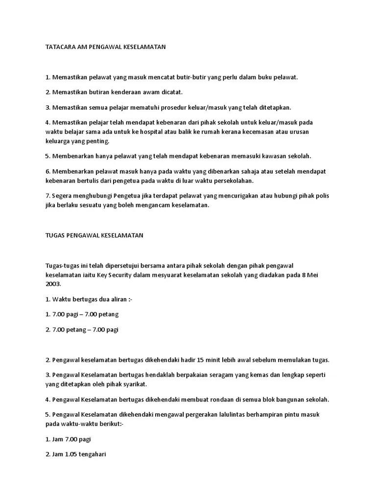 Contoh Buku Log Pengawal Keselamatan Contoh Buku Laporan Harian Pengawal Keselamatan Contoh Format Supervisi Untuk Sekolah Yang Menggunakan Kurikulum 2006 Wei Zhigang