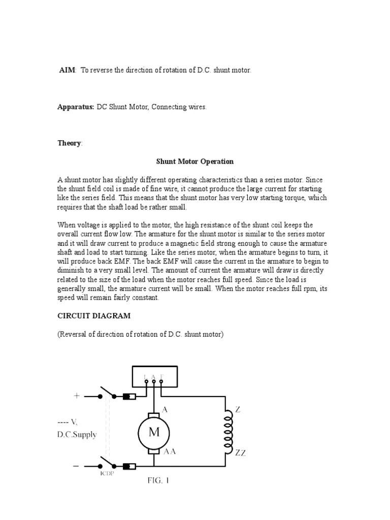 dc shunt wiring diagram [ 768 x 1024 Pixel ]