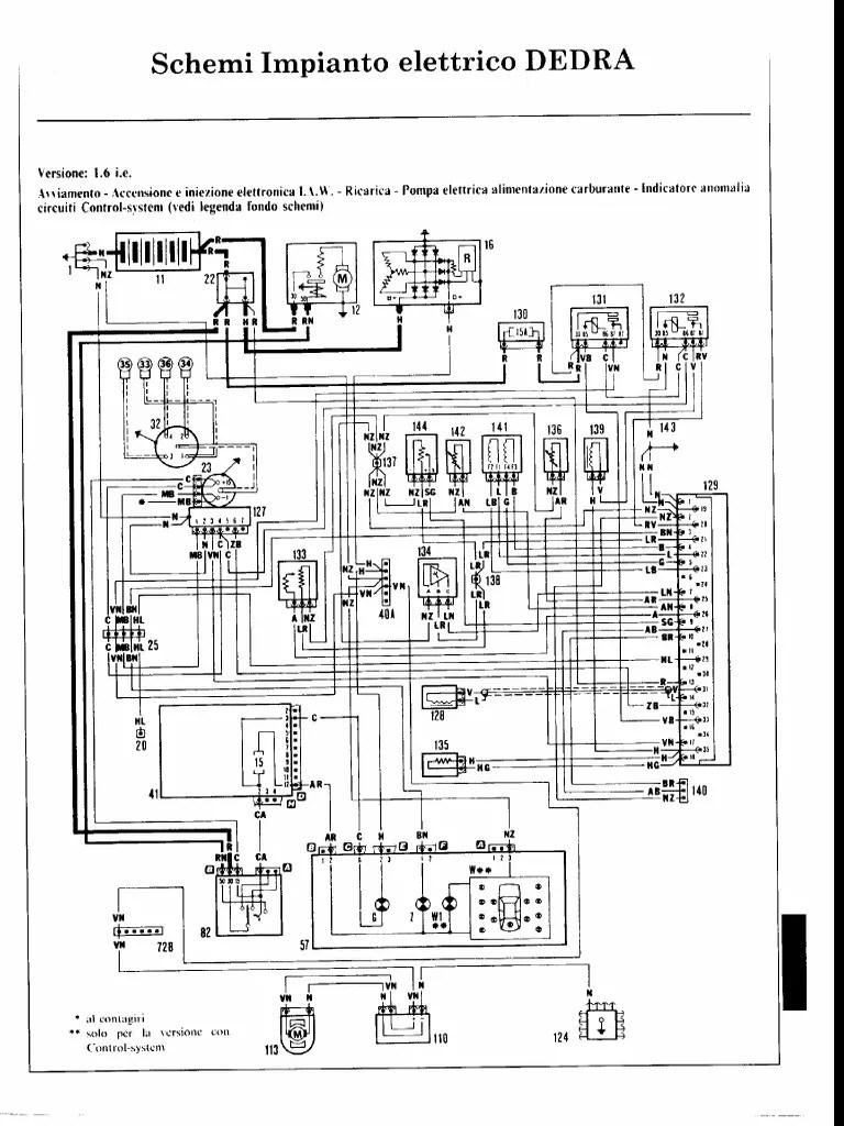 Schema Elettrico Fiat Panda Multijet: Schema elettrico
