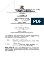 Contoh Adendum Kontrak Pekerjaan Tambah Kurang