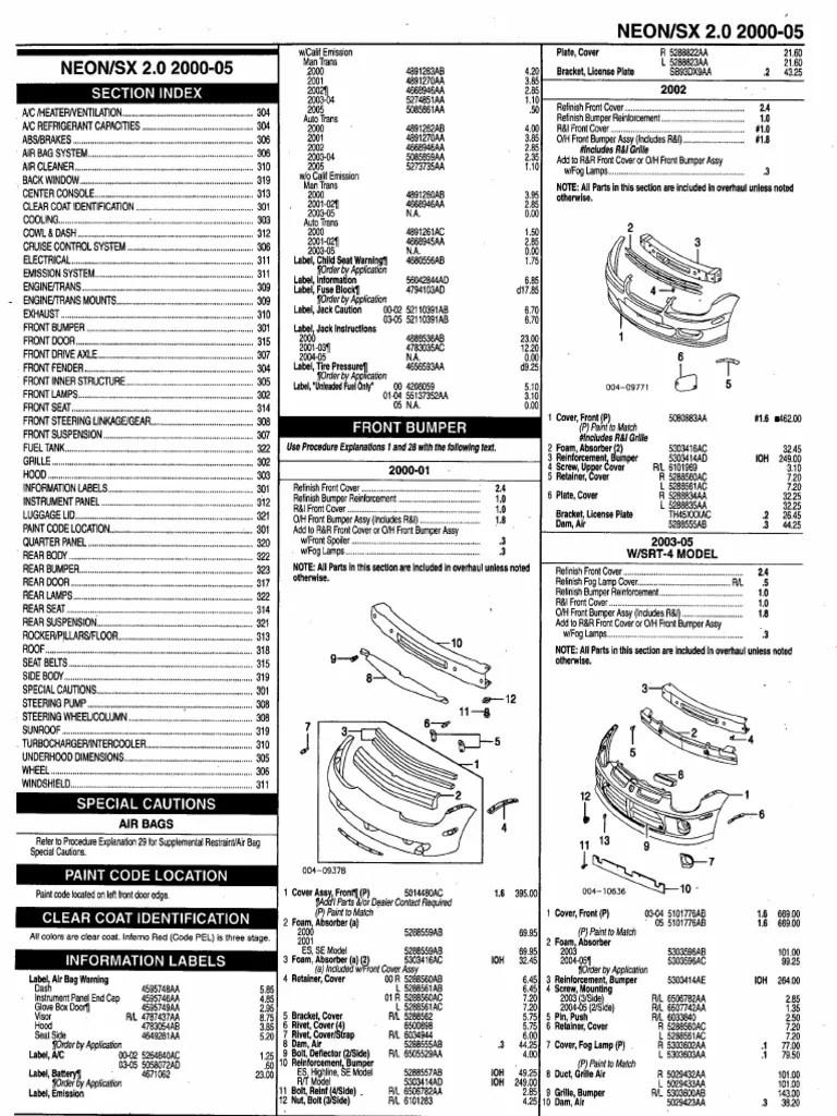 2001 dodge durango schematic ddl [ 768 x 1024 Pixel ]