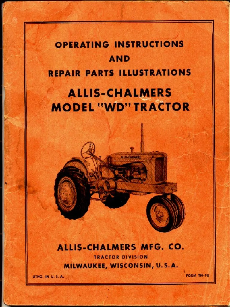 small resolution of allis chalmers wd 12 volt wiring diagram electrical wiring diagrams simplicity lawn tractor wiring diagram allis