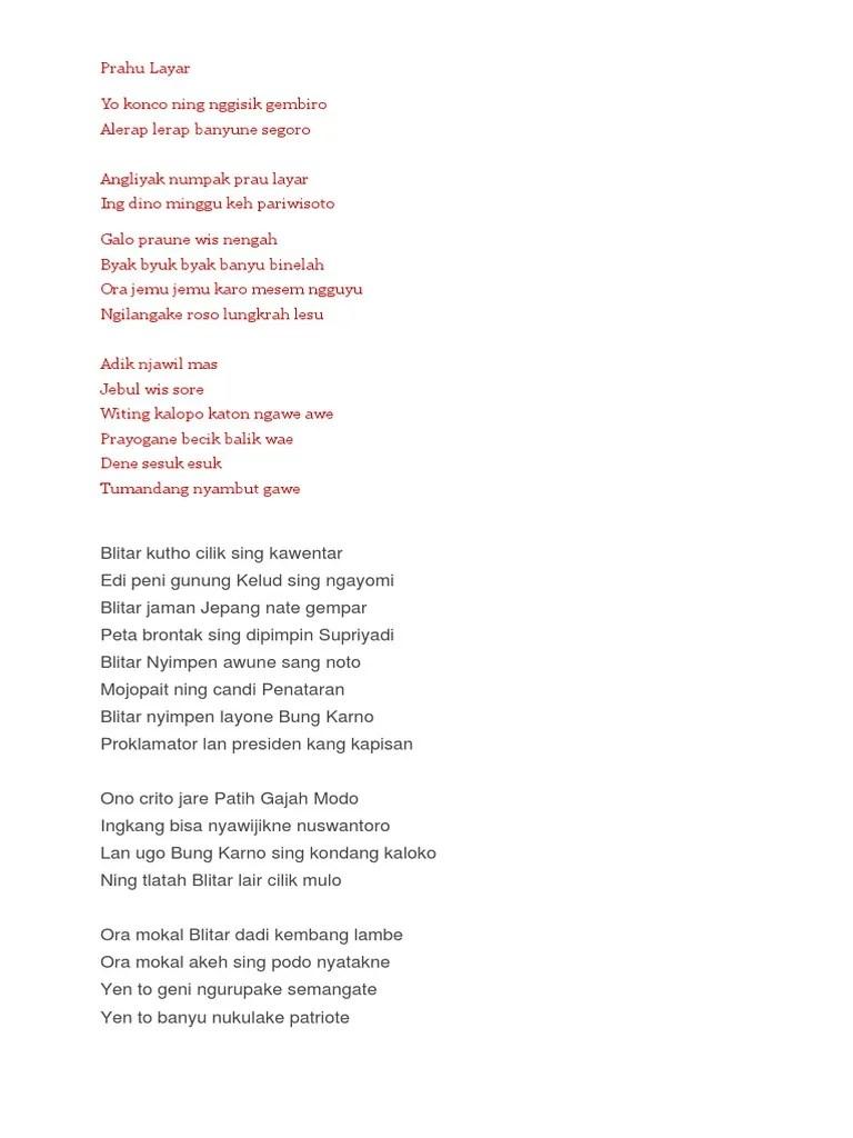 Lirik Lagu Prahu Layar : lirik, prahu, layar, Lirik, Prahu, Layar