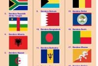 Bendera Negara Timur Tengah