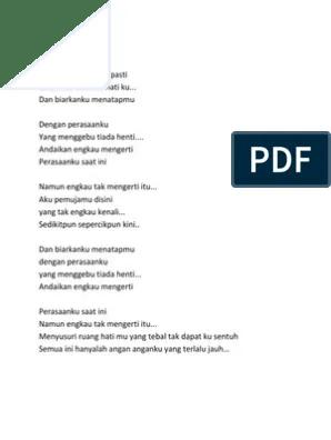 Download Lagu Adista Perasaanku Saat Ini : download, adista, perasaanku, Lirik, Andaikan, Engkau, Mengerti, Perasaanku, Arsia