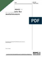 Maintenance Department Audit Checklist